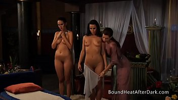 Lesbian Girls Undressed By Dominant Madame With Whip In Hands 5分钟