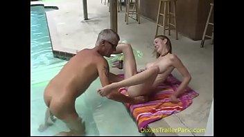 Dads and daughters naked - Naked dad and daughter take a swim