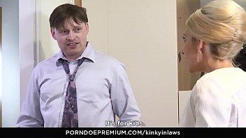 KINKY INLAWS - Stepson gets to please Czech stepmom Vanessa K. in steamy forbidden fuck - 69VClub.Com
