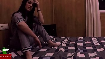 She watches her friends fuck and she ends up masturbating IV 056