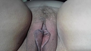 very close up of NICKIS pretty pussy lips