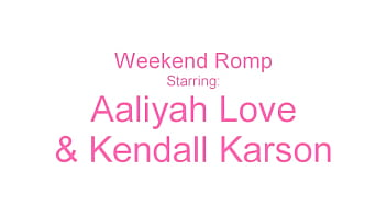 Tasty Twats Kendall Karson And Aaliyah Love Tongue Fuck Their Pussies!