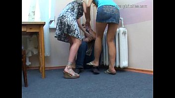Russian femdom sexy sweat - Russian mother and daughter d father