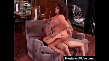 Mature woman fucking in a house with a pool