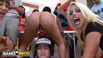 BANGBROS - Curvy Pornstars Crash Dorm Room Shindig And Fuck The Frat Boys