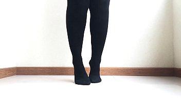 Dance, stockings, squirt and slowmo.