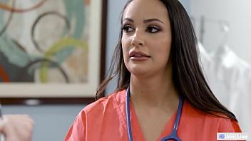 Doctor Has Lesbian Sex With Rookie Nurse - Sofi Ryan, Riley Reyes