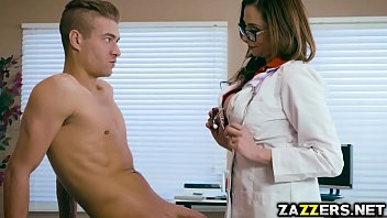 Xander Corvus let Dr Arella Ferrari ride his big cock