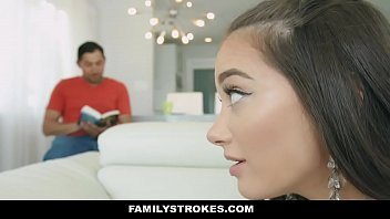 FamilyStrokes - Stepdaughter (Gia Paige) with Big Ass Seduces & Fucks Dad 12 min