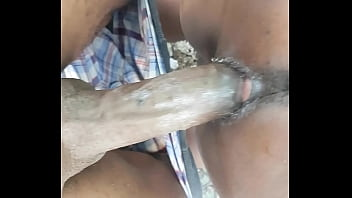 Haitian big ass  woman getting her tight fat pussy fuck