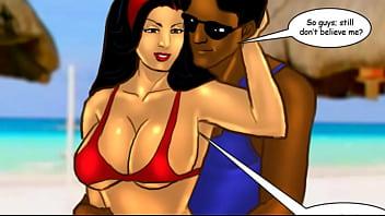Saa Bhabhi Episode 33  Sexy Sur Beach 68