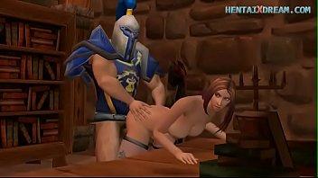 Medieval 3D Scene - Uncensored At WWW.HENTAIXDREAM.COM 6 min