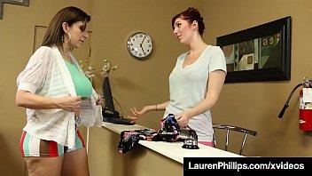 Red Hot Ginger Header Lauren Phillips Opens Her Legs For GF!