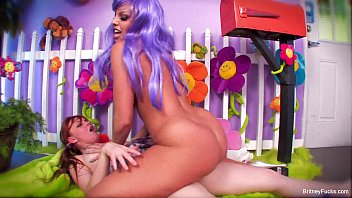 Nude purple panty thumbs - Sexy purple hair kidnapper with britney amber