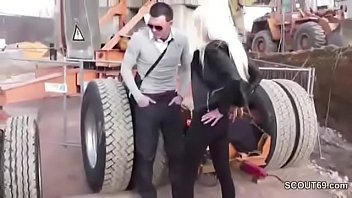 Young German Teen Seduce to Fuck by Stranger Outdoor thumbnail