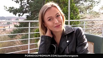 QUEST FOR ORGASM - Sensual masturbation leads to intense orgasms with Ukrainian blonde Aislin