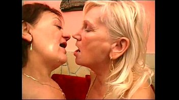 Grandma has lesbian sex Lesbian grannies kissing and licking each other