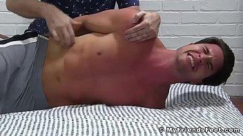 Tickling professional handling bound stud Sergey
