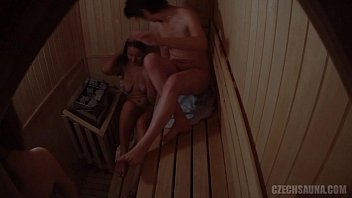 Three Hot Girls Have a Fun in Pool´s Sauna