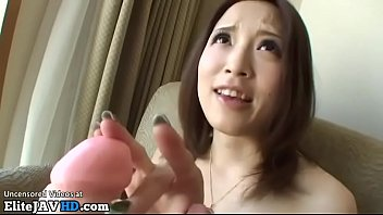 Japanese small beauty gives hot blowjob