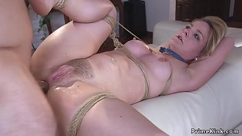 Blonde hostage tied up and anal fucked porno izle