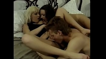 This two fine ladies Suduction and Kay London make a perfect team sucking and riding dude's cock