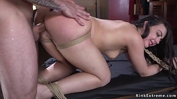 Held to ransom porn - Prepared for ransom babe anal fucked in bondage
