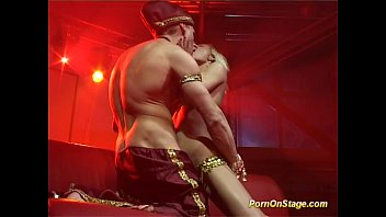 incredible hot oriental fuck on public show stage thumbnail