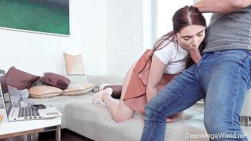 Beauty4K.com - Mia Evans - Mia Evans takes sperm on face