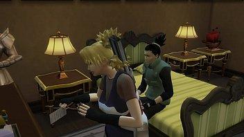 Temari Follada al frente de su esposo Shikamaru Naruto Hentai Netorare fuerte marido Cornudo Vorschaubild