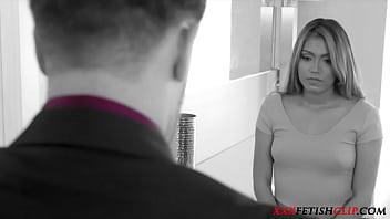 Master Lets Loose On Docile Servant - Nicole Rey - FULL SCENE on http://xxxFetishClip.com