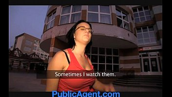 Publicagent Angel Does Not Look So Angelic When She's Riding My Big Cock.