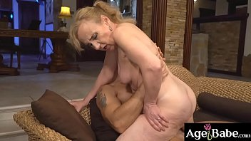 Old and naughty Nanney had a great sweet   banging with a young masculine man Mugur