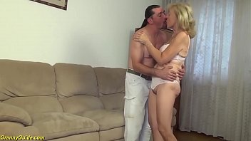 Ugly 82 Years Old Mom Stepson Fucked