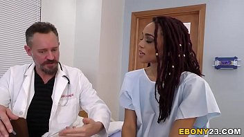 Busty Ebony Julie Kay Having Group Sex In Hospital