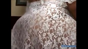 Milf lace - Bbw in white lace gets laid - 8bbw.com