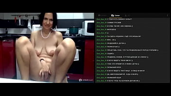 Sexy Mom Of Five Sons With Big Saggy Tits Discovers A Slutty Whore In Herself Under The Guidance Of An Experienced Remote Master!