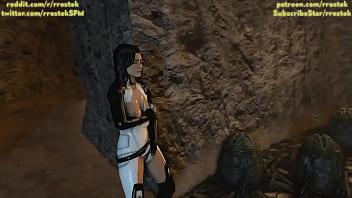 Samus Aran on a Strange Alien Planet Part 3 3D porn 73 sec