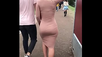 Perfect Blonde in Dress