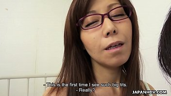 Japanese teacher, Chihiro Akino is naughty, uncensored