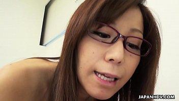 Japanese teacher, Chihiro Akino is naughty, uncensored