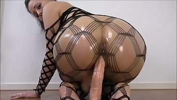 POV Ass Rieding Big Dildo /
