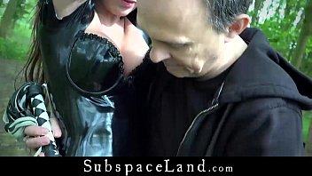 sex xxx sex - Full Day Exploitation Of Sexy Latex Slave Julie Jodar thumbnail