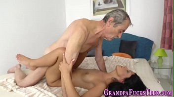 Old young cunt licking Teen oozes old mans cum