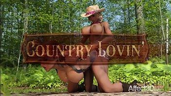 Lesbian big tits futanari cowgirls having threesome sex thumbnail