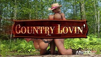 Lesbian big tits futanari cowgirls having threesome sex