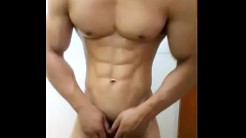 china chinese gay muscle guy young man amateur selfie solo wank jerking.off 中国 筋肉 肌肉 年轻 同性恋 同志 手淫 自拍 pornhub video