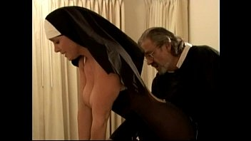 Naughty neighbour spanked - Two naughty nuns