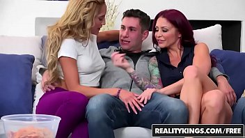 RealityKings - Sneaky Sex - Brad Knight Chloe Amour Monique Alexander Sne - Game Night