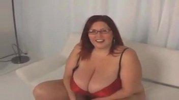 Redhead huge tits bbw thumbnail